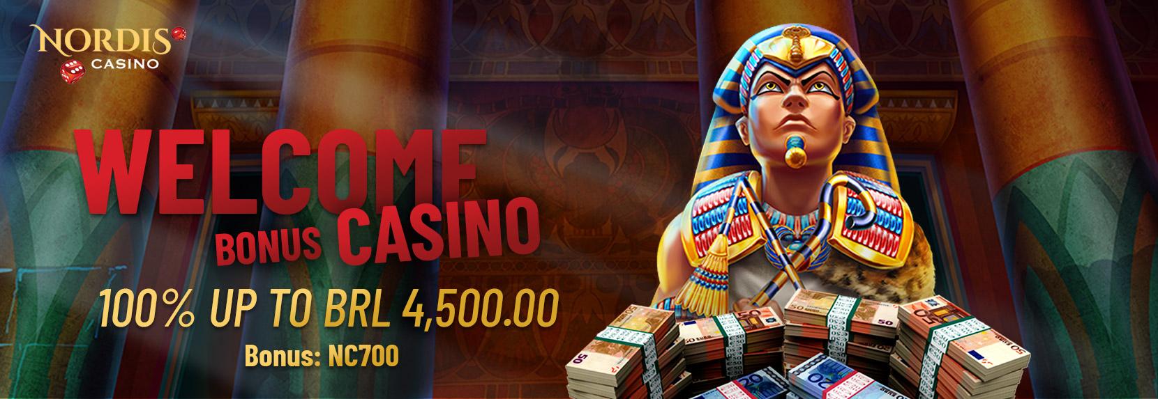 Welcome Bonus  Casino – BRL