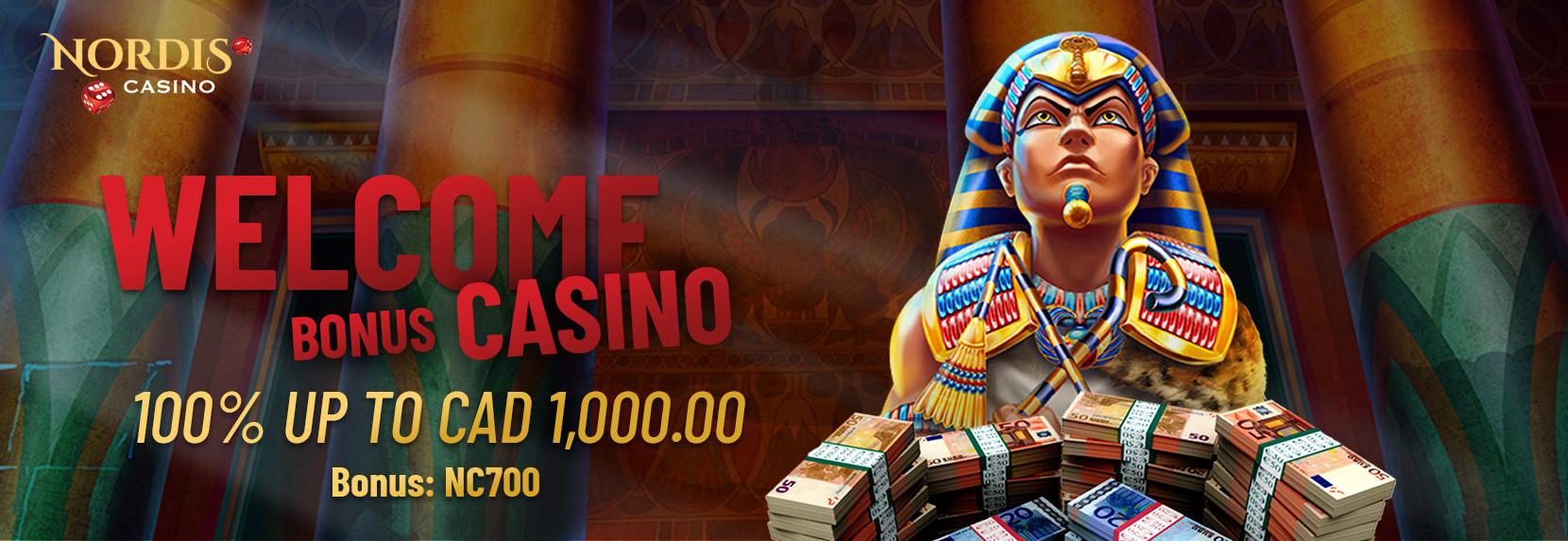Welcome Bonus  Casino – CAD