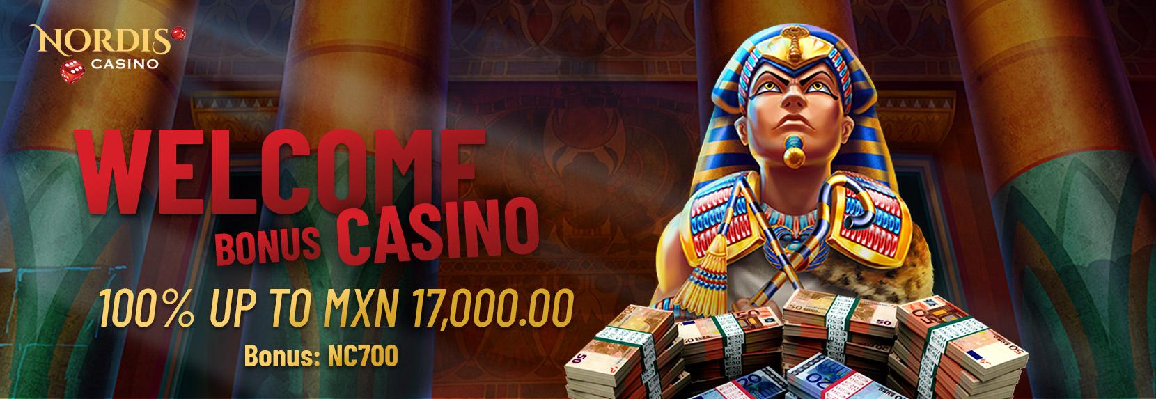 Welcome Bonus  Casino – MXN